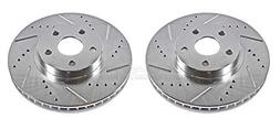 Power Stop JBR931XPR Front Evolution Drilled & Slotted Rotor
