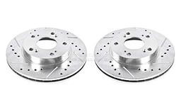 Power Stop JBR962XPR Front Evolution Drilled & Slotted Rotor