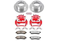 Power Stop KC1890A-36 Rear Z36 Truck and Tow Brake Kit with