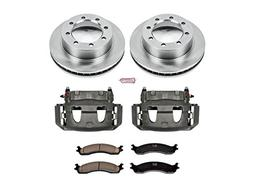 Power Stop KCOE5089 Front Stock Replacement Brake Kit with C