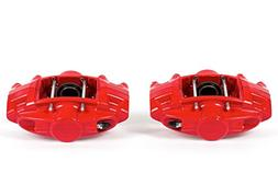 Power Stop S6182 Red Powder-Coated Performance Caliper