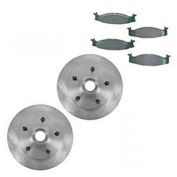 Premium Posi Ceramic Pad & Rotor Front Set for Ford F150 E15