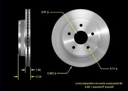 Bendix PRT5381 Brake Rotor