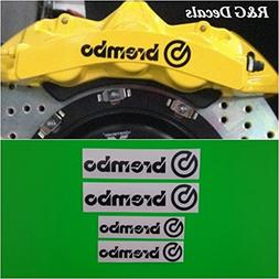 R&G Brembo 6 Piston & 4 piston High Temp Brake Caliper Decal