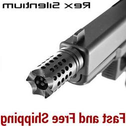 Razor Tactical Custom Muzzle Brake for 9mm Pistol/Carbine 1/