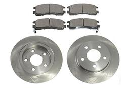 Rear Brake Pad & Rotor Kit for LeSabre Park Ave Escalade Bon