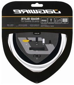Jagwire Road Elite Sealed Brake Cable Kit White, One Size