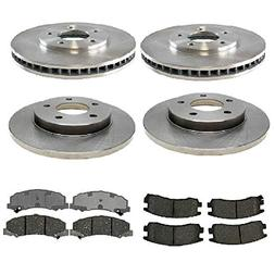 Prime Choice Auto Parts SCD11594516 4 Front and Rear Disc Br