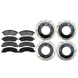 scd757pr64076 set of 4 drilled and slotted