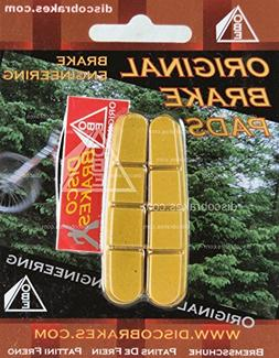 Shimano Dura-Ace Ultegra Yellow Road Brake Pads Inserts Comp