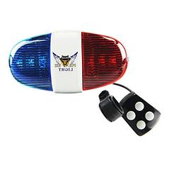 Onedayshop® Super Loud Bike Bicycle Police Car 6 LED Light