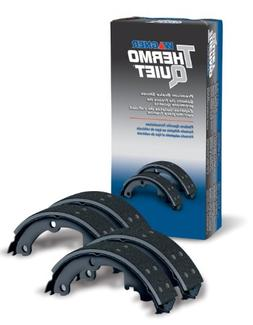 Wagner ThermoQuiet PAB913 Brake Shoe Set, Rear