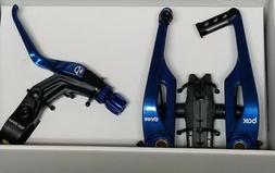 BOX THREE BMX/Mountain Bike V Brake 108mm w/LEVER LONG BLUE