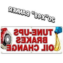 tune ups oil change brakes banner muffler