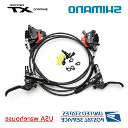 SHIMANO XT BL-M8000 BR-M8020 4 Pistons Hydraulic Disc Ice Te