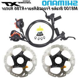 Shimano XT BR M8000 MTB Hydraulic Disc Brake Set Front&Rear