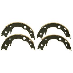 Wagner Z796 Parking Brake Shoe Set, Rear
